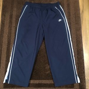 Nike Kids FitDry Pants with zippers Size Small